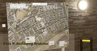 Fase 8: Rondweg Brukske; vorst vertraagt werkzaamheden