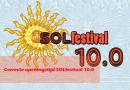 Correcte openingstijd SOLfestival 10.0!