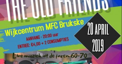 The Old Friends live in het MFC Brukske