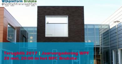 Jaarvergadering Wijkplatform Brukske